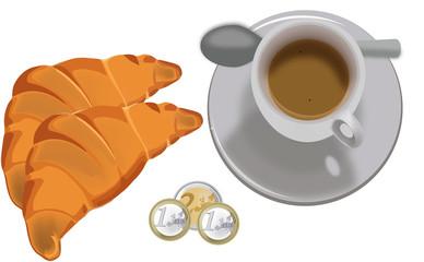 Tazzina.con caffè