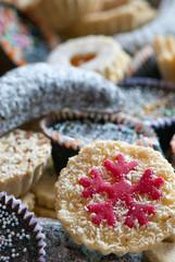Mixed sweet cakes
