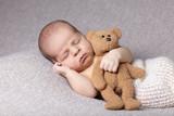 Fototapeta spania - piękny - Niemowlę