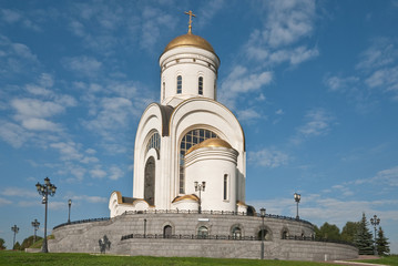 Church of St. George, Moscow, Russia