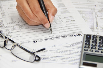 Form 1040 - tax forms and finance