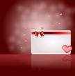 Botschaft mit Liebe und Herz