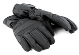 Ski black gloves