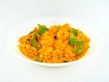Indian spicy Shrimp fried Rice.