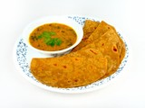 Sumptuous Chapatti and Dal meal