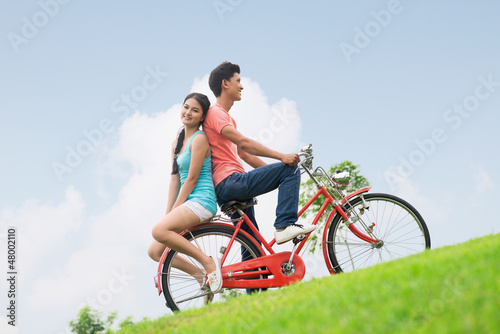 Romantic cyclists