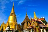Fototapety Wat pra kaew, Grand palace ,Bangkok,Thailand.