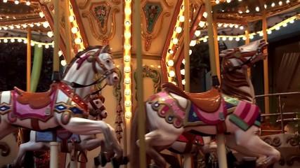 Сhildren's carousel horse