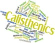 Word cloud for Calisthenics