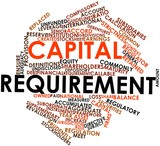 Word cloud for Capital requirement poster