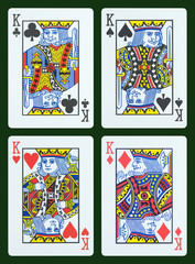Playing cards - King
