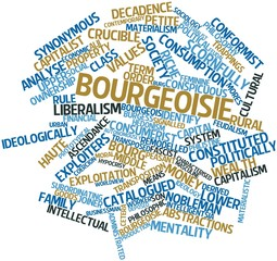 Word cloud for Bourgeoisie