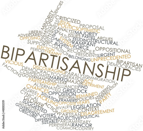 Word cloud for Bipartisanship