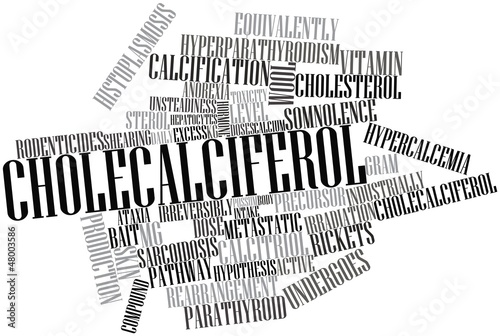 Word cloud for Cholecalciferol