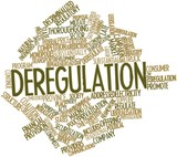 Word cloud for Deregulation