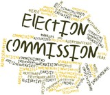 Word cloud for Election commission