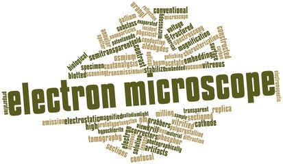 Word cloud for Electron microscope