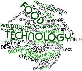 Word cloud for Food technology