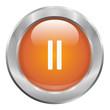 Bouton musique orange pause
