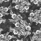 Seamless background for textile fabrics and cloths