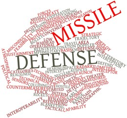 Word cloud for Missile defense
