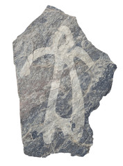 Woman . Old ancient petroglyph