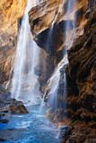 Fototapeta wodospad - park - Kaskada / Wodospad / Gejzer