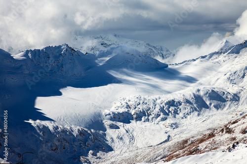 Keuken foto achterwand Nieuw Zeeland Caucasus mountains-3