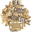 Word cloud for Real gross domestic product