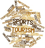 Word cloud for Sports tourism