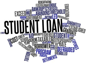 Word cloud for Student loan