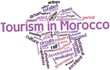 Word cloud for Tourism in Morocco