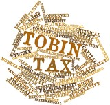 Word cloud for Tobin tax