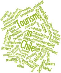 Word cloud for Tourism in Chile