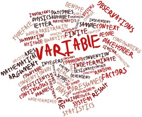 Word cloud for Variable