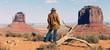 panoramic cowgirl