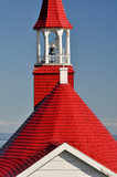 Roof of Tadoussac chapel (oldest canadian wooden church)