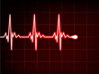 Abstract heart beats cardiogram. EPS 8
