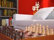 Chess Game Interior Detail