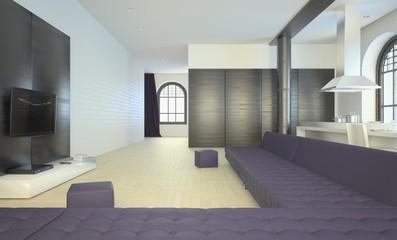 Large Renovated Loft Apartment