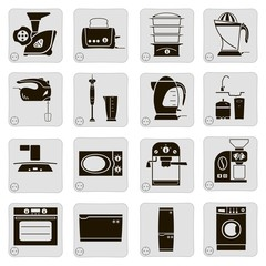 electrical devices in the kitchen