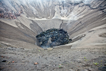 Crater of volcano Bromo, Sunri Indonesia