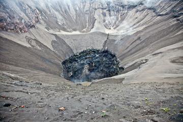 Crater of volcano Bromo, Sunri Indonesia