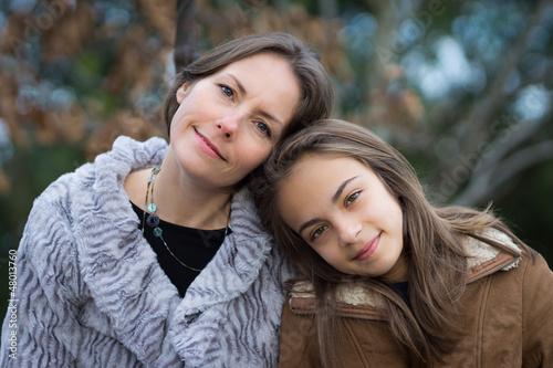 mère d'adolescente