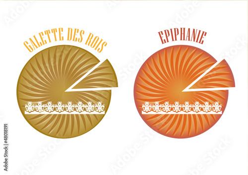 2 galettes des rois - Epiphanie