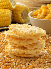 Bizcochos dietéticos de maíz,choclos,arroz.