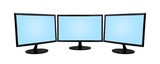 three monitor