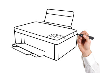 drawing printer