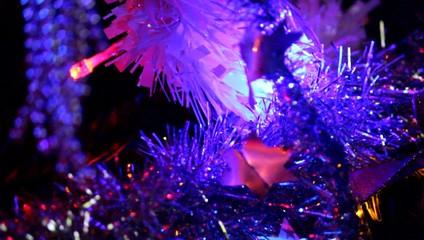 Décorations du sapin à Noël