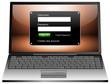 Laptop mit Login Fenster